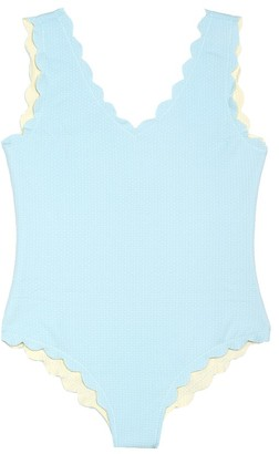 Marysia Bumby Reversible scalloped swimsuit