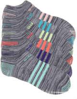 adidas Super Stripe No Show Socks - 6 Pack - Women's