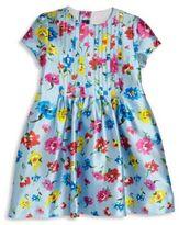 Oscar de la Renta Toddler's & Little Girl's Scattered Flower Capri Dress