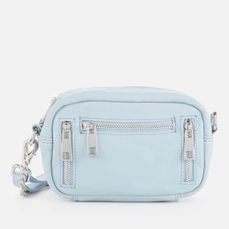 Nunoo Women's Brenda Smooth Cross Body Bag - Light Blue