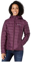 Columbia Lake 22tm Down Hooded Jacket (Black Cherry) Women's Coat