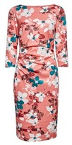 Dorothy Perkins Womens Lily & Franc Pink Painted Floral Print Dress