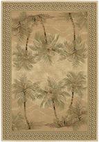 Couristan Palm Trees Rectangular Rug