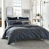 Kenneth Cole Reaction Home Douglas Reversible King Duvet Cover in Blue Plaid