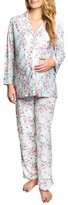 Everly Grey Women's Helena Maternity/nursing Pajamas