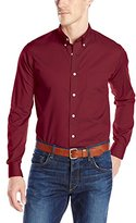 Dockers Long-Sleeve Solid Button-Front Shirt