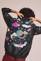 Manish Arora Space Sequined Bomber Jacket
