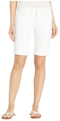 Paige Jax Knee Shorts in Crisp White (Crisp White) Women's Shorts