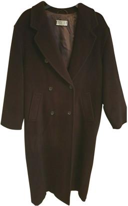 Marella Brown Wool Coats