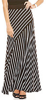 Peter Nygard Petite Mix Maxi Skirt