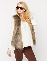 Pea Collection Ella Moss Faux Fur Faux Fur Maternity Vest