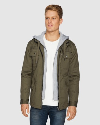 TAROCASH Reserve Hooded Jacket