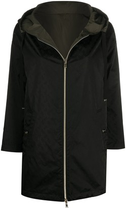 Herno Jacquard Hooded Coat