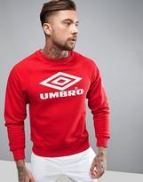 Umbro Pro Training Sweatshirt In Red