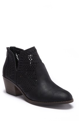 Fergalicious Betrayal Strappy Ankle Bootie