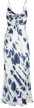 Shona Joy Palmar Print Slip Dress
