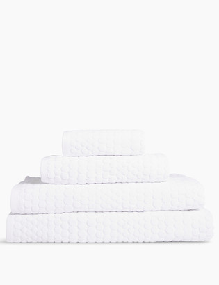 Marks and Spencer Pure Cotton Spotty Textured Towel
