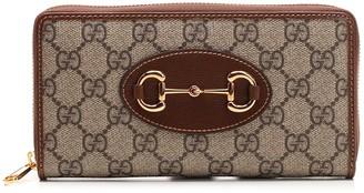 Gucci 1955 Horsebit Zipped Wallet