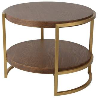 One World Pearce Round 2 Tier Side Table