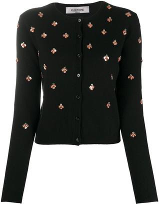 Valentino Sequin-Detail Cardigan