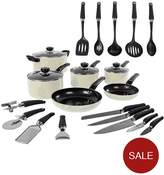 Morphy Richards Equip 20-piece Cookware Set