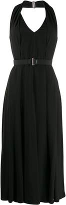 Prada sleeveless halterneck dress