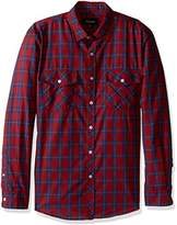Brixton Men's Memphis Standard Fit Long Sleeve Button Down