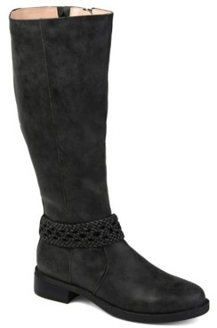 Journee Collection Paisley Extra Wide Calf Boot