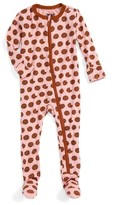 Kickee Pants Infant Girl's Fitted One-Piece Footie Pajamas