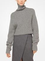 Michael Kors Wool Scissor Skirt