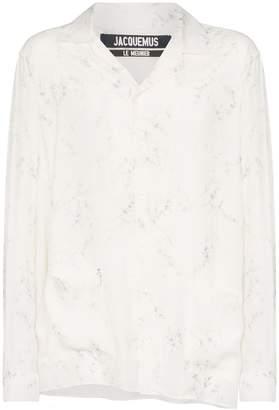 Jacquemus Etienne floral print shirt
