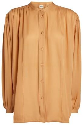 KHAITE Silk Denny Blouse