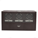 Wolf Blake Triple Winder with Storage and Travel Case