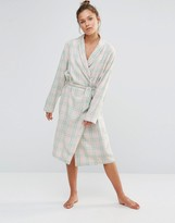 Chelsea Peers Checked Robe