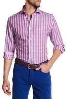 James Tattersall Classic Fit Plaid Shirt