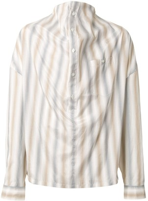 Y/Project Striped Oversized Shirt