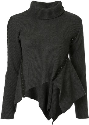 Shanshan Ruan Turtleneck Jumper