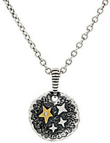 American West Jennifer Nettles Believe Sterling/Brass Diamond Accent Pendant w/Chain
