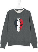 Moncler printed sweatshirt - kids - Cotton - 14 yrs