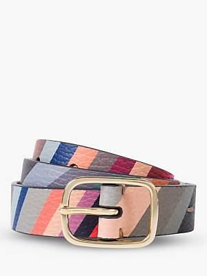 Paul Smith Signature Swirl Leather Belt, Multi