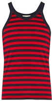 Gucci Striped Cotton-jersey Tank Top