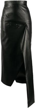 MATÉRIEL Asymmetric Midi Skirt