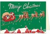 Cavallini Santa & Sleigh Christmas Boxed Notes