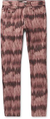 Isabel Marant Jack Slim-Fit Tie-Dyed Denim Jeans