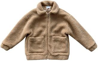 I.AM.GIA Camel Polyester Coats