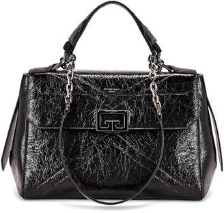 Givenchy Medium ID Flap Bag in Black | FWRD