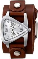 Nemesis Women's 024BGBS Triangle Series Analog Display Japanese Quartz Brown Watch