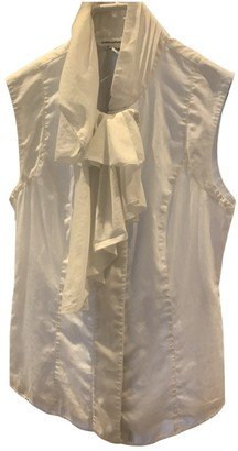 Diane von Furstenberg White Cotton Tops