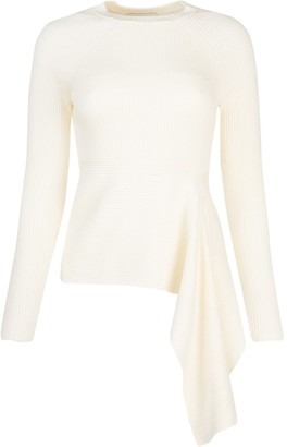3.1 Phillip Lim Draped Knitted Top