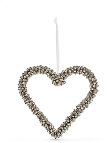 Marks and Spencer Hanging Silver Bell Heart